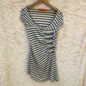 Anthropologie Cartonnier striped T-shirt, M